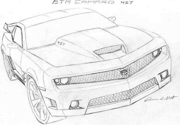 The gallery for --> Camaro Zl1 Sketch