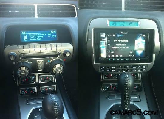 Pioneer Avic Z130bt Installed Camaro5 Chevy Camaro Forum
