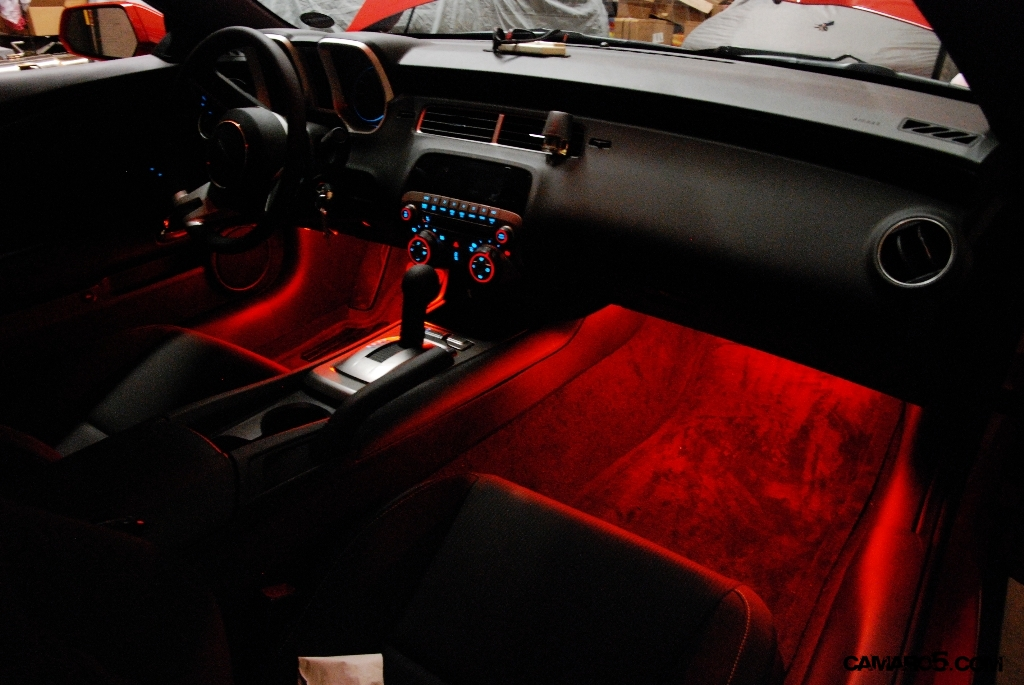 diy footwell led lighting in tune with dome light camaro5 chevy camaro forum camaro zl1. Black Bedroom Furniture Sets. Home Design Ideas