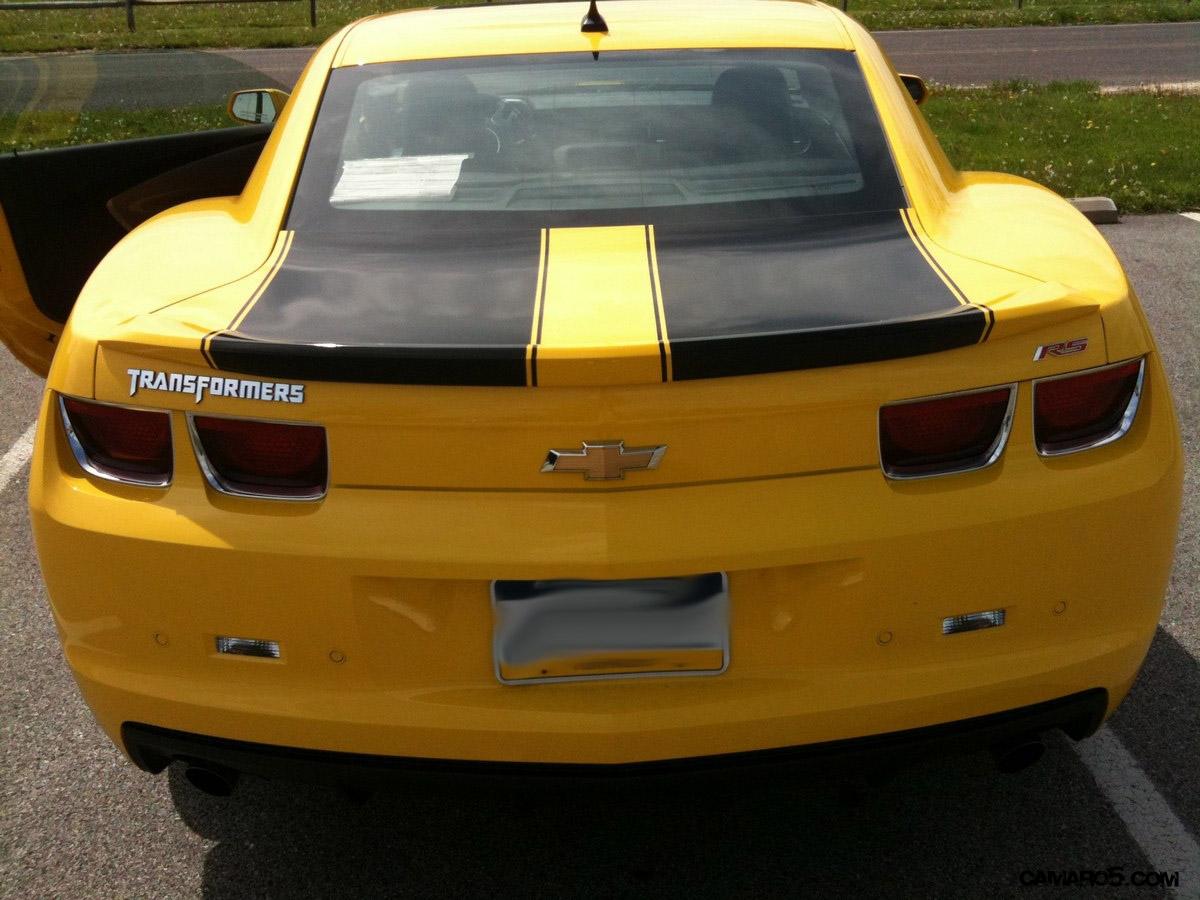 Transformer Ization Of My Rally Yellow 2lt Rs Camaro5 Chevy