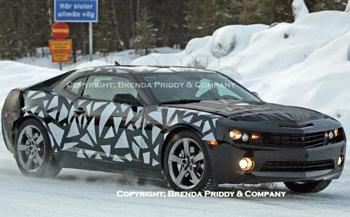 camaro spy photo spyshot