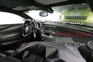 Camaro interior photos