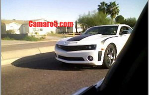 2009 2010 camaro ss spy photo
