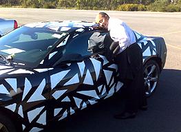 2010 Camaro Test Mule