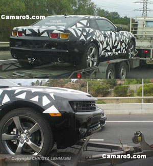 2010 camaro spyshot image photo