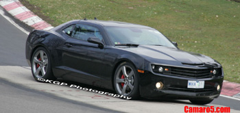 2009 2010 Camaro nurburgring spy photo shot pic