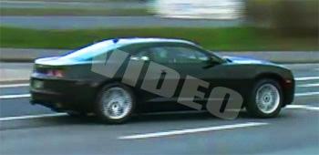 2009 2010 camaro spy video spyshot