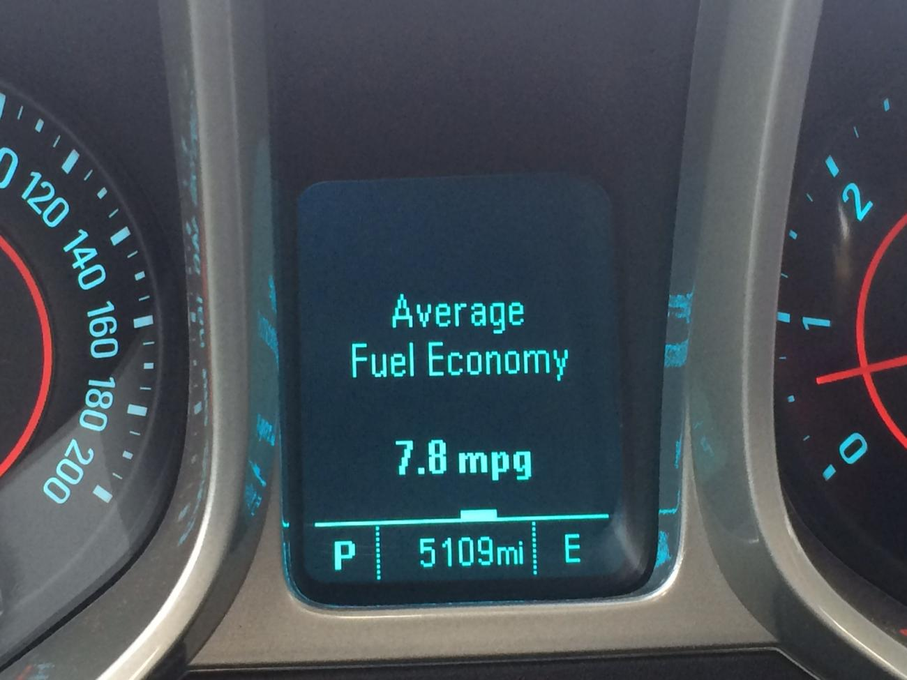 ZL1 Gas Mileage, Show Us Pictures of Your MPG Display - Camaro5 ...