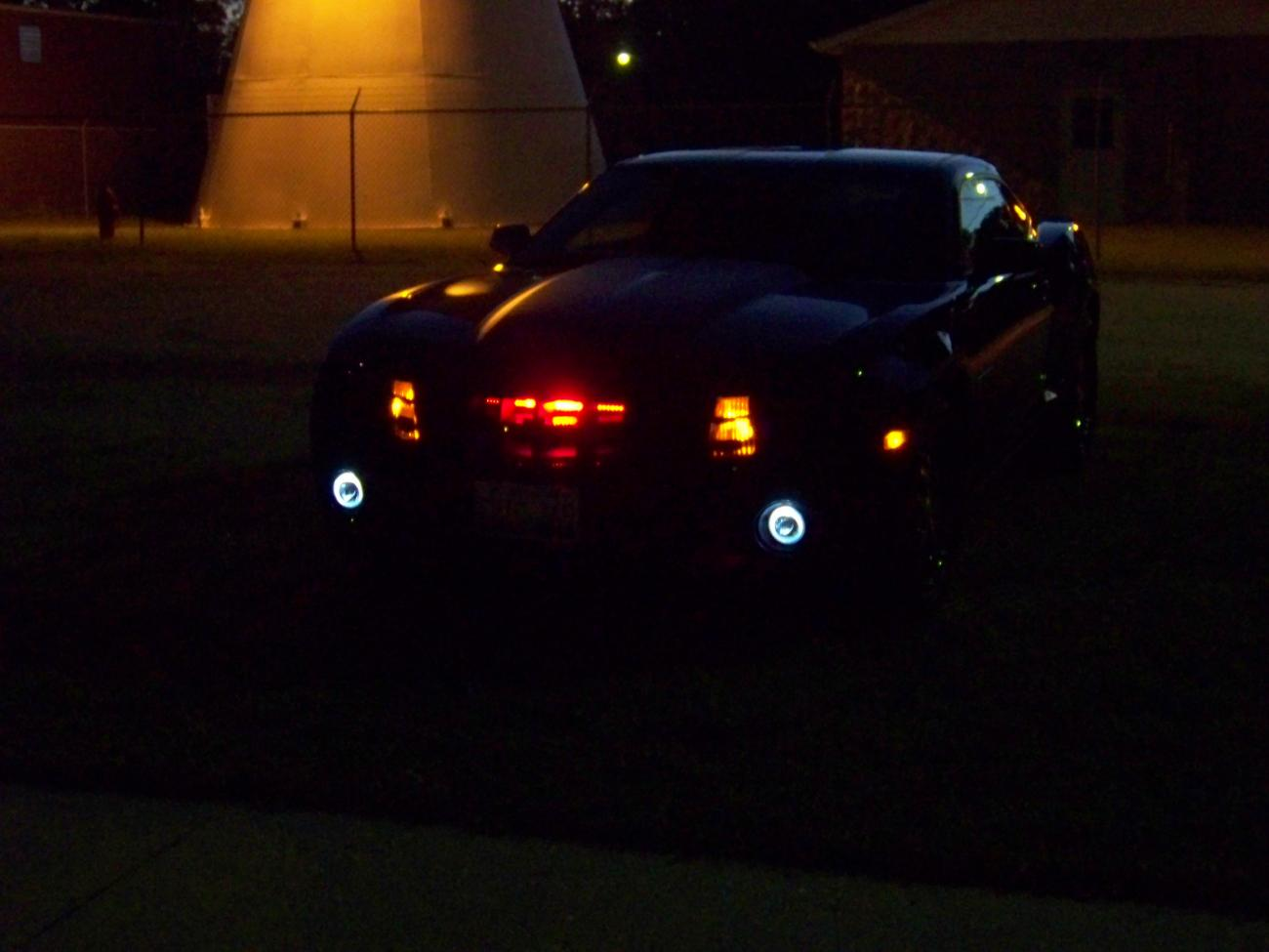 camaro ls night shots aftermarket halo fogs and knight. Black Bedroom Furniture Sets. Home Design Ideas