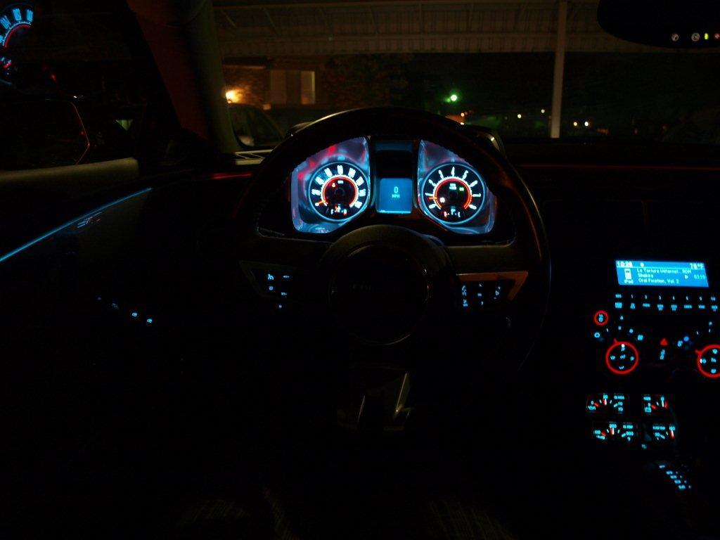 Ambient Lighting Red Camaro5 Chevy Camaro Forum