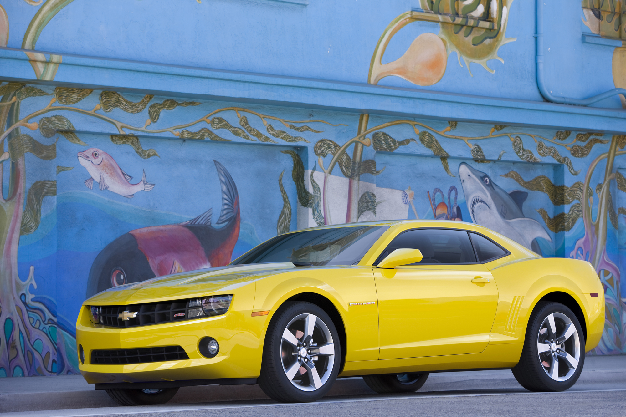 Official 2011 Camaro Wallpapers