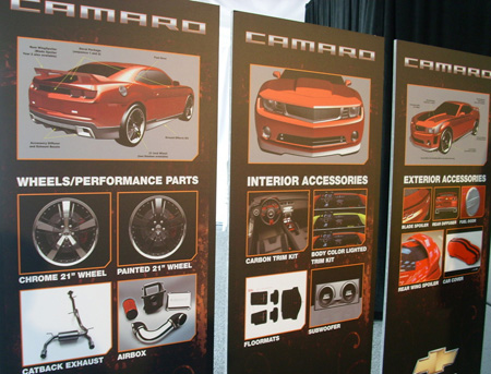 2010 camaro performance parts accessories