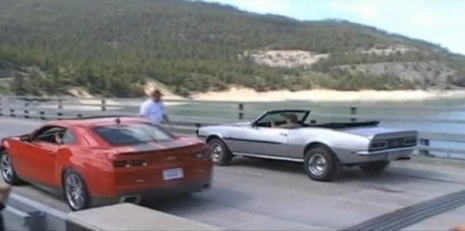 Video 2010 Camaro Vs 1968 Camaro Mustang Gt 500 1972