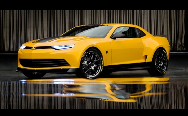 First Official Images Of Transformers 4 Concept Camaro