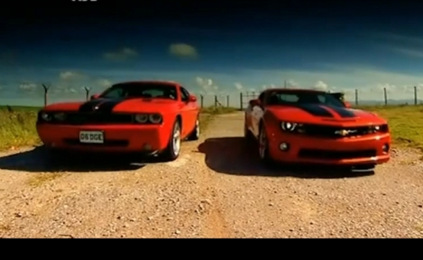 Fifth Gear Track Shootout Camaro Ss Vs Challenger Srt8