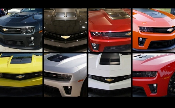 2012 Camaro Zl1 Final Build Counts By Color And