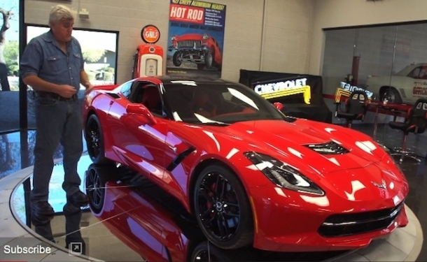 "to ""Jay Leno and Ed Welburn Review the 2014 Corvette Stingray [Video"