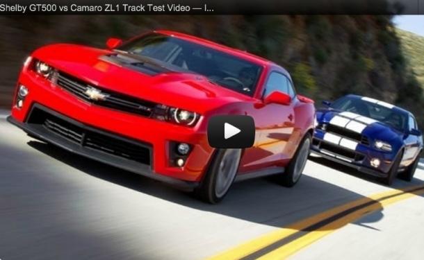 2012 Camaro Zl1 Vs 2013 Mustang Shelby Gt500 Performance